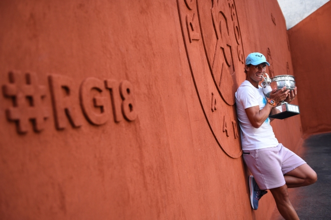 Rafael Nadal, Roland Garros 2018, Photocall, Photo : Corinne Dubreuil / FFT